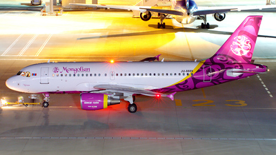 JU-8889 - Airbus A319-112 - Mongolian Airlines