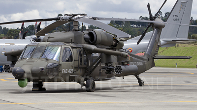FAC4127 - Sikorsky AH-60L Arpía III - Colombia - Air Force