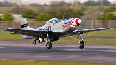 G-MRLL - North American P-51D Mustang - Private