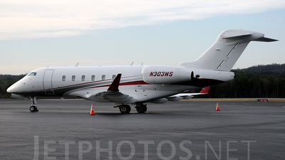 N303WS - Bombardier BD-100-1A10 Challenger 300 - Private