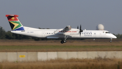 ZS-NMO - Bombardier Dash 8-Q402 - South African Express
