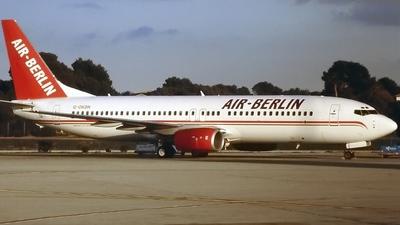 G-OKDN - Boeing 737-8Q8 - Air Berlin (Sabre Airways)
