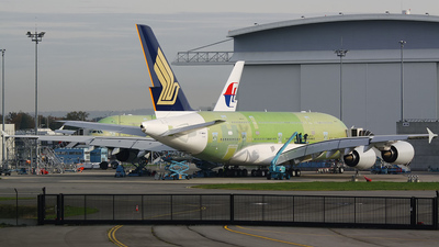 F-WWAH - Airbus A380-841 - Singapore Airlines