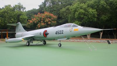 4522 - Lockheed F-104J Starfighter - Taiwan - Air Force