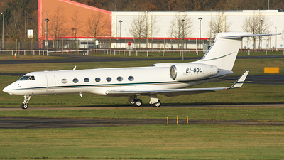 A picture of EIGDL - Gulfstream G550 -  - © James Mepsted