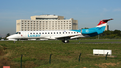 LX-LGJ - Embraer ERJ-145LU - Luxair - Luxembourg Airlines