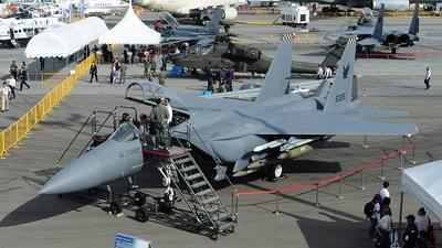 8328 - Boeing F-15SG Strike Eagle - Singapore - Air Force