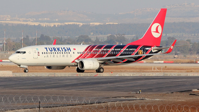 TC-JFV - Boeing 737-8F2 - Turkish Airlines