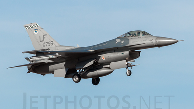 90-0755 - General Dynamics F-16CG Fighting Falcon - United States - US Air Force (USAF)