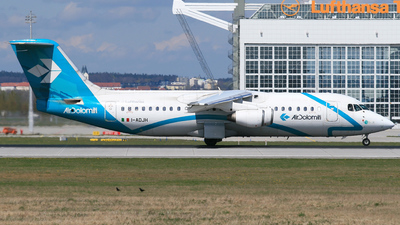 I-ADJH - British Aerospace BAe 146-300 - Air Dolomiti