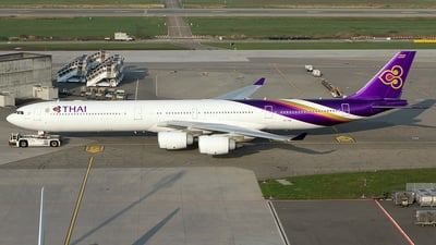 HS-TNE - Airbus A340-642 - Thai Airways International