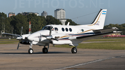 LV-ARU - Beechcraft C90B King Air - Private