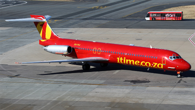ZS-TRJ - McDonnell Douglas MD-87 - 1Time Airline