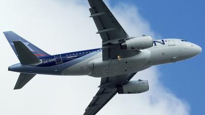 CC-CVS - Airbus A318-121 - LAN Airlines