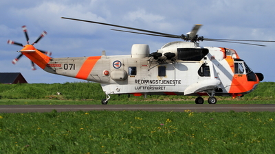 071 - Westland Sea King Mk.43B - Norway - Air Force