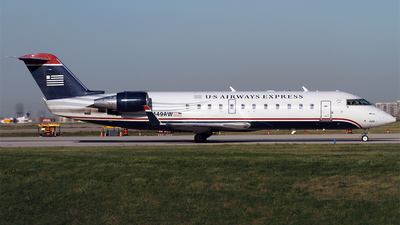 N449AW - Bombardier CRJ-200ER - US Airways Express (Air Wisconsin)