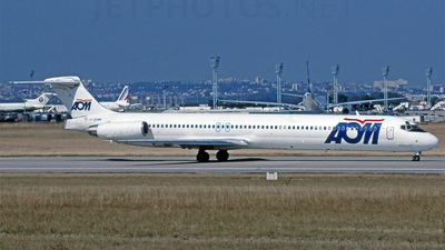 F-GGMB - McDonnell Douglas MD-83 - AOM French Airlines