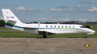 OK-EMA - Cessna 680 Citation Sovereign - Travel Service