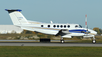 C-GFSE - Beechcraft B200 Super King Air - Canada - Alberta Government Air Transportation Services