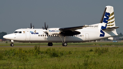 PH-LMT - Fokker 50 - VLM Airlines