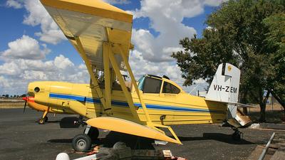 VH-ZEM - Schweizer G-164B Ag Cat B - Private