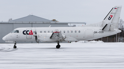 OK-CCD - Saab 340B - Central Connect Airlines
