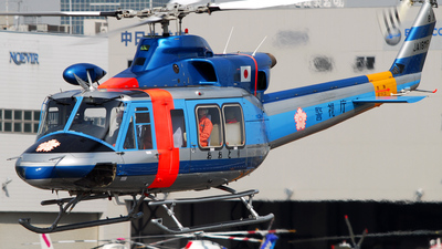 JA18MP - Bell 412EP - Japan - Police