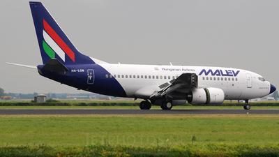 HA-LOB - Boeing 737-7Q8 - Malév Hungarian Airlines