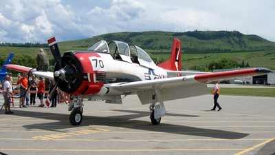 N8539A - North American T-28D Trojan - Private