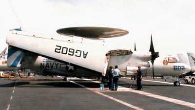 163697 - Grumman E-2C Hawkeye - United States - US Navy (USN)