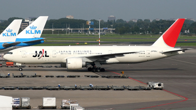 JA706J - Boeing 777-246(ER) - Japan Airlines (JAL)