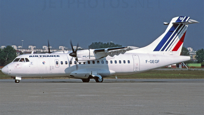 F-GEGF - ATR 42-300 - Air France (Air Littoral)