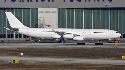 TC-JIJ - Airbus A340-313X - Turkish Airlines