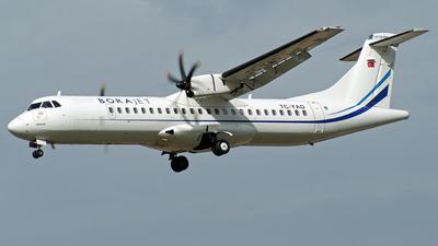 TC-YAD - ATR 72-212A(500) - Bora Jet