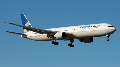 N59053 - Boeing 767-424(ER) - Continental Airlines