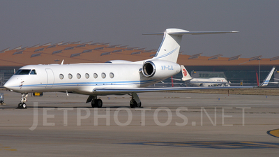 VP-CJL - Gulfstream G550 - Private