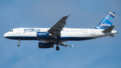N590JB - Airbus A320-232 - jetBlue Airways