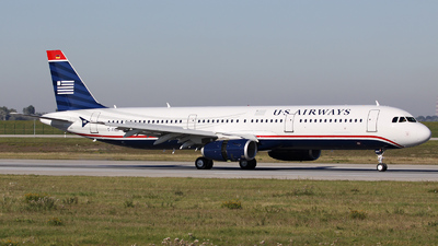 D-AVZD - Airbus A321-231 - US Airways