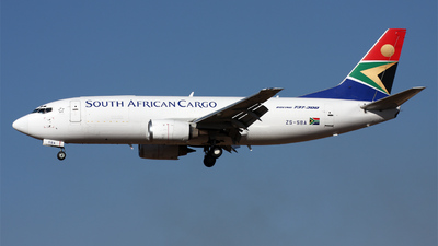 ZS-SBA - Boeing 737-3Y0(SF) - South African Cargo