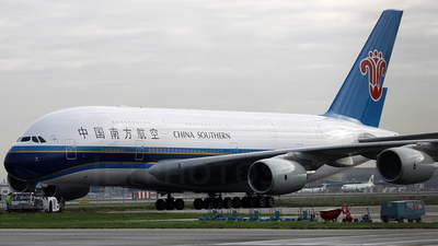 F-WWAM - Airbus A380-841 - China Southern Airlines