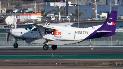N857FE - Cessna 208B Super Cargomaster - FedEx Feeder (West Air)
