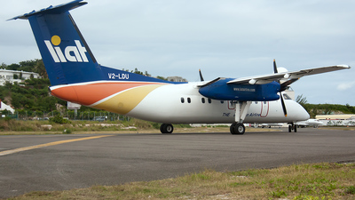 V2-LDU - Bombardier Dash 8-102A - Leeward Islands Air Transport (LIAT)
