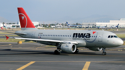 N361NB - Airbus A319-114 - Northwest Airlines