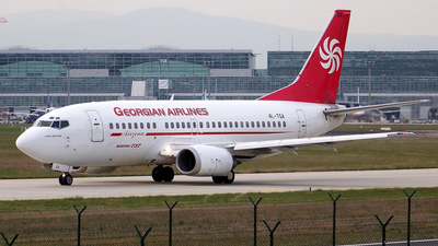 4L-TGA - Boeing 737-5Q8 - Georgian Airways (AirZena)