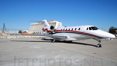N147CX - Cessna 750 Citation X - Private