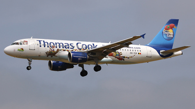OO-TCP - Airbus A320-214 - Thomas Cook Airlines