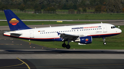 D-AHII - Airbus A319-111 - Hamburg International