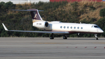 VP-CNR - Gulfstream G550 - Private