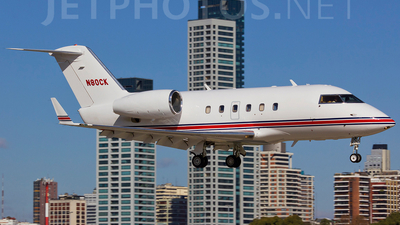 N80CK - Canadair CL-600-1A11 Challenger 600 - Private