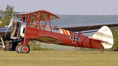 F-AZMZ - Boeing E75 Stearman - Private